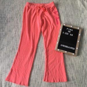 Pink Victoria Secret Pants Small eighty six sweats